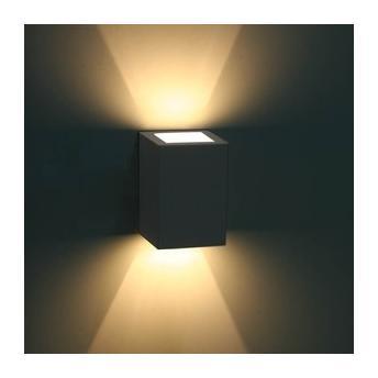 Arandela Bella Luce Quadrada Led Branco Fosco - Bl8066bf
