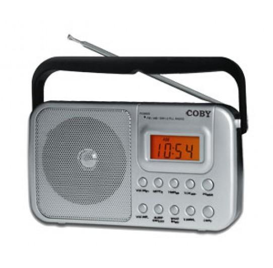 Rádio Portátil Com Rádio Am/fm Coby 1 W Rms - Cr201