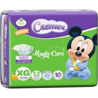 Fralda Magic Care Com 52 Unidades – Tamanho Xg Cremer