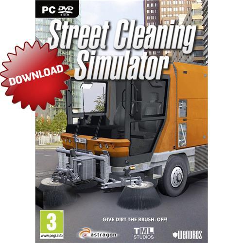 Jogo Street Cleaning Simulator Astragon - Pc