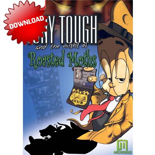 Jogo Tony Tough And The Night Of The Roasted Moths Microids - Pc