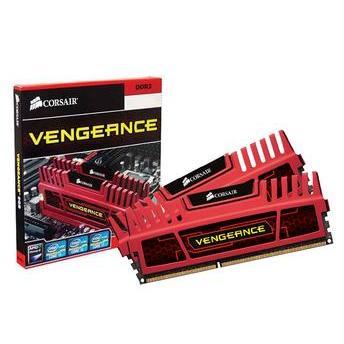 Memória Ram Vengeance Red 16gb Kit(2x8gb) Ddr3 1600mhz Cmz16gx3m2a1600c10r Corsair
