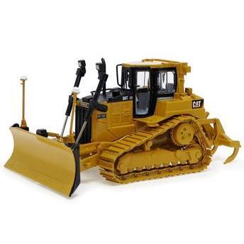 Cat - Trator de Esteira Caterpillar 1:50 D6t Xw Norscot - Máquinas e Invenções