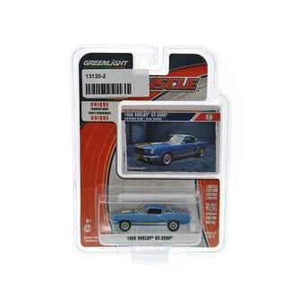 Carrinho Ford Mustang Shelby Gt-350h 196 1:64 Greenlight