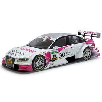 Miniatura Audi A4 Dtm 2010 N°15 Audi Sport Team Rosberg / Katherine Legge 1:18 Nor188335 Norev