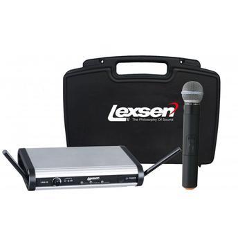 Kit Microfone S/ Fio de Mão, Lapela, Auricular + Cabo Lwm-58 Lexsen