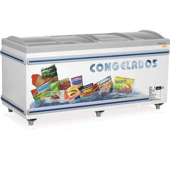 Freezer Gelopar 958 Litros Adesivado 4 Portas - 110v - Gesk 190