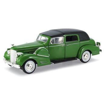 Carrinho Cadillac 1938 Series 90 V16 Fleetwood 1:32 Verde Signature