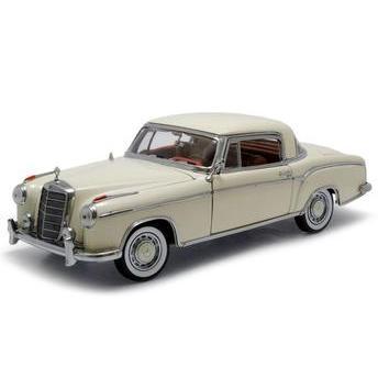 Carrinho Mercedes Benz 220se Coupe 1958 1:18 Sunstar