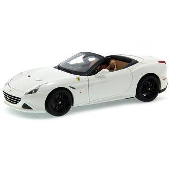 Carrinho Ferrari California T Conversivel Signature 1:18 Branco Bburago
