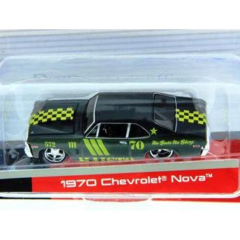 Carrinho Chevrolet Nova 1970 All Stars 1:64 Maisto