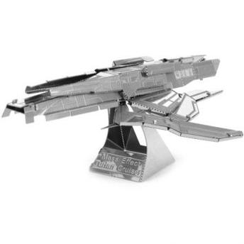 Metal Earth Mini Réplica de Montar Mass Effect Turian Cruiser