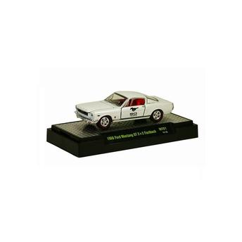 Miniatura Ford Mustang Gt 2+2 Fastback 1966 Mt01 1:64 M2 Machines