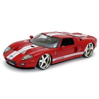 Carrinho Ford Gt 2005 1:24 Vermelho Jada Toys