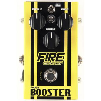 Pedal para Guitarra Power Booster Fire Custom Shop