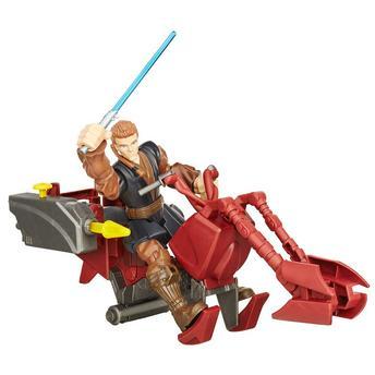 Veículo Hero Mashers Star Wars Ep Vii Speeder Bike W Anakin Skywalker B3831/b3833 Hasbro