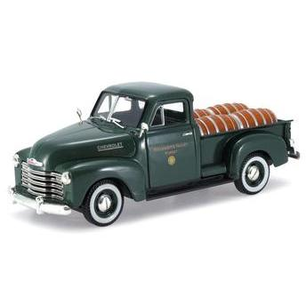 Carrinho Chevrolet 1950 Pickup Truck C/ Barris 1:32 Signature