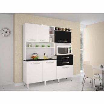 Cozinha Completa Jcm Gavião 6 Portas 2 Gavetas