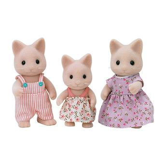 Boencos Sylvanian Families - Família de Gatos Epoch Magia