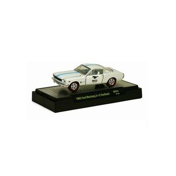 Miniatura Ford Mustang 22 Fastback 1965 Mt01 1:64 M2 Machines