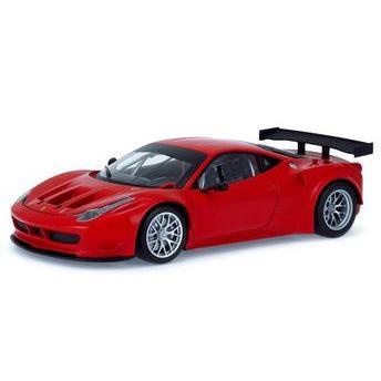 Carrinho Ferrari 458 Itália Gt2 1:18 Hot Wheels Elite 1:18 Mattel