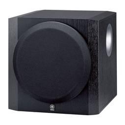 Caixa Acústica Yamaha Preto 100 W Rms Sw216bl