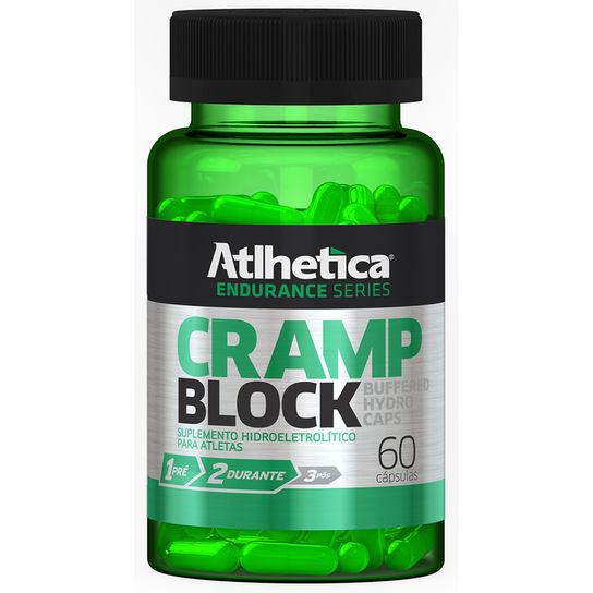 Cramp Block Endurance Series - 60 Cápsulas Atlhetica Nutrition