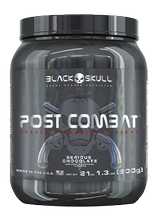 Post Combat 600g Chocolate Black Skull