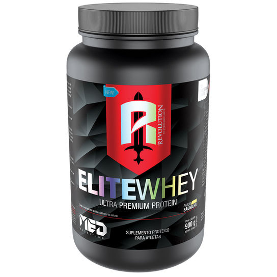 Elite Whey Revolution 900g Baunilha Med Nutrition