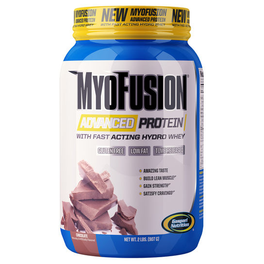 Myofusion Advanced 907g Manteiga de Amendoim Gaspari Nutrition