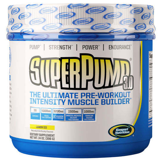 Super Pump 3.0 - 375g Gaspari Nutrition