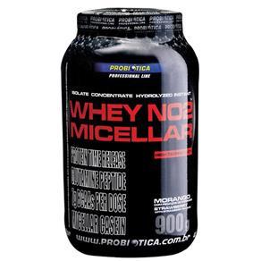Whey No2 Micellar 900g Morango Probiotica