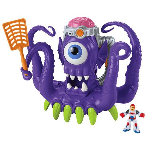 Boneco Imaginext Alien Tentáculos e Figura Mattel