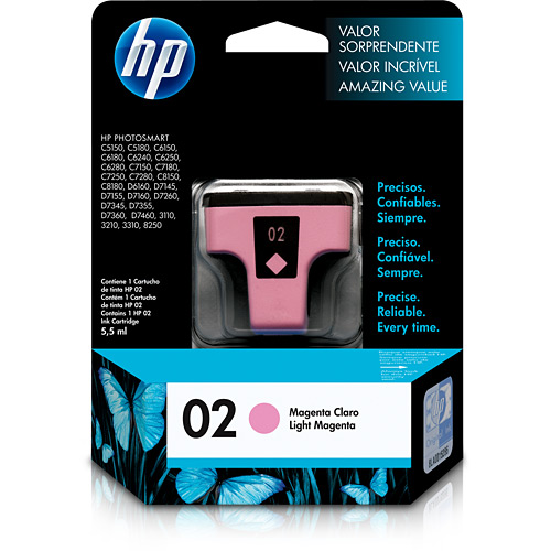 Cartucho Hp 02 Licht 5,5ml Magenta C8775wl