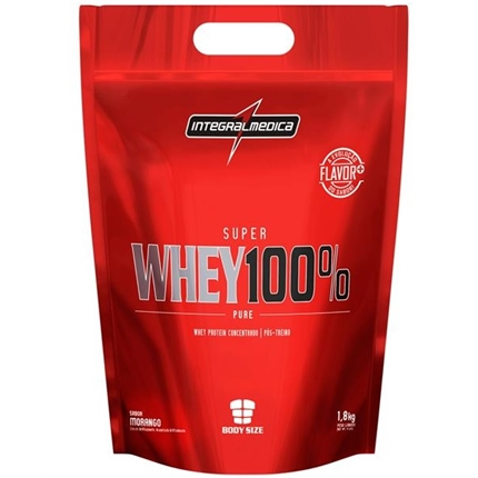 Super Whey 100% 1,8kg Baunilha