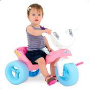 Triciclo Pepita Com Baú Rosa Xalingo 0734.4