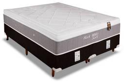 Colchão Orthoflex Black White Soft 138x188x30cm Molas Pocket Casal