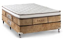 Colchão Castor Eurotop Supreme 78x188x36 Molas Pocket Solteiro