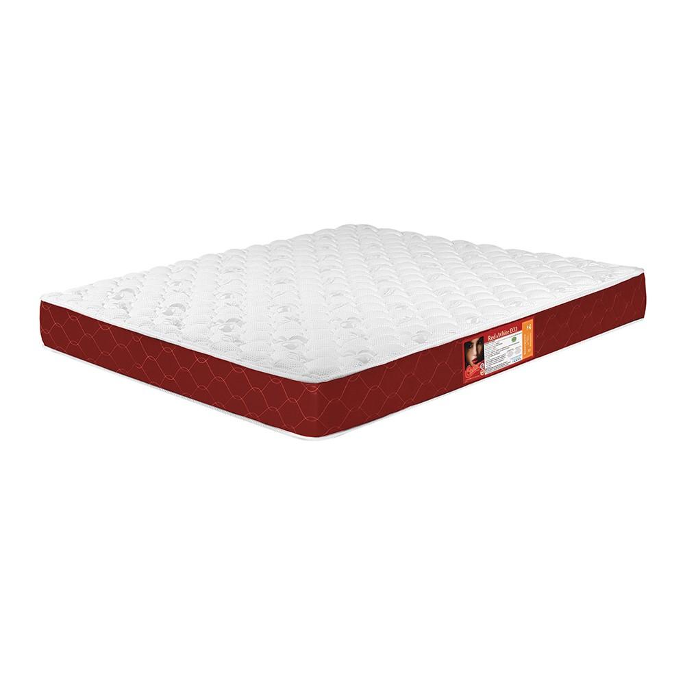 Colchão Castor Red & White100x200x25cm D33 Solteiro