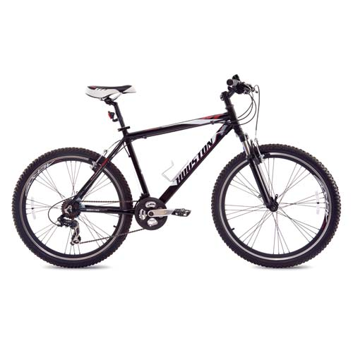 Bicicleta Houston Mercury Ht Aro 26 Susp. Dianteira 21 Marchas - Branco/preto