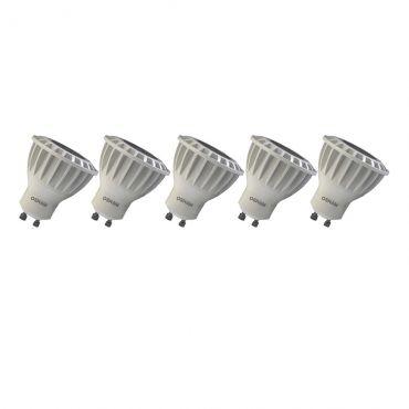 Lâmpada Osram Kit 5 Unid Led Par16 Gu10 827 7w 110v