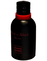 Perfume Black Is Black Paris Elysees Eau de Toilette Masculino 100 Ml