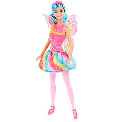 Boneca Barbie Mattel Fadas Reinos Mágicos - Arco-íris Dhm56