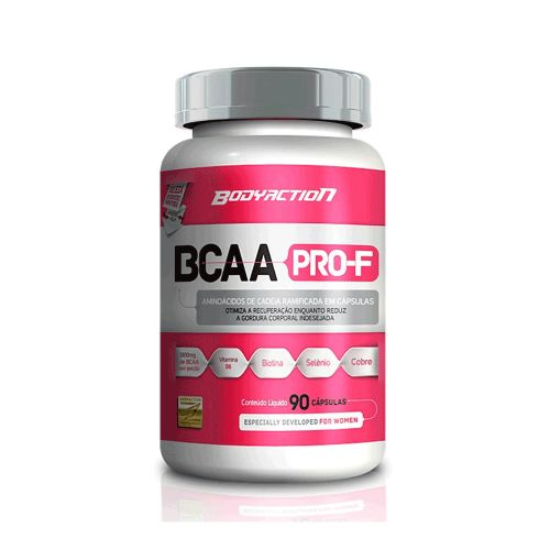 Bcaa Pro-f - 90 Cápsulas Body Action