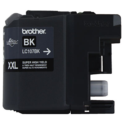 Cartucho Brother Preto Lc107bk