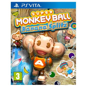 Jogo Super Monkey Ball: Banana Splitz - Ps Vita - Sega