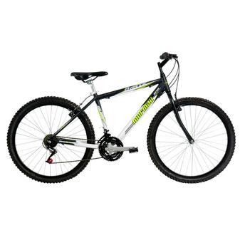 Bicicleta Mormaii B-range Aro 26 Rígida 21 Marchas - Preto/verde