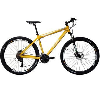 Bicicleta Mazza Fire 29 Disc M T19 Aro 29 Susp. Dianteira 21 Marchas - Amarelo