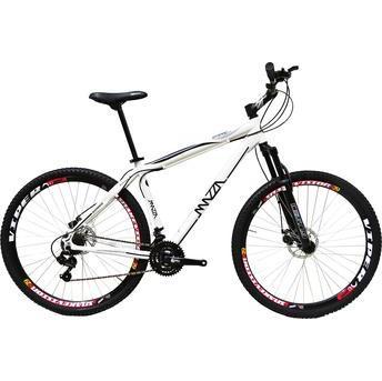 Bicicleta Mazza Fire 29 Disc M T17 Aro 29 Susp. Dianteira 21 Marchas - Branco