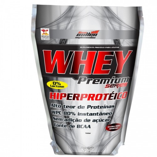 Whey Premium 2kg Baunilha - Refil New Millen
